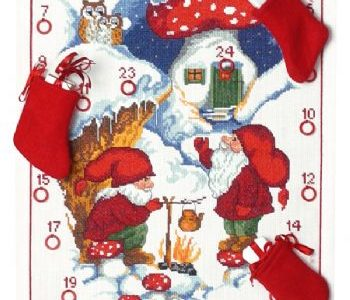 Julekalender Nisse varmer te