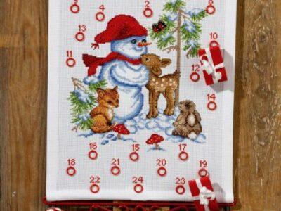 Julekalender Snemand