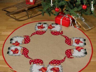 Juletræstæppe Priknisser