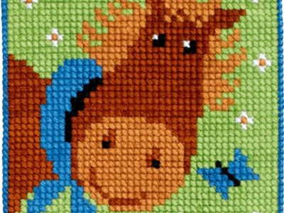 Broderikit for børn hest 9330