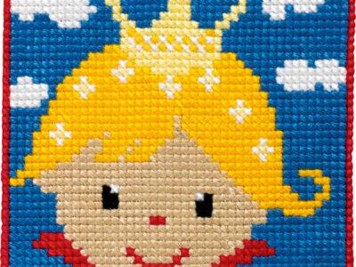Broderikit for børn Prinsesse 9335
