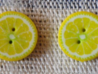 Hamilton Fimo Knap Citron