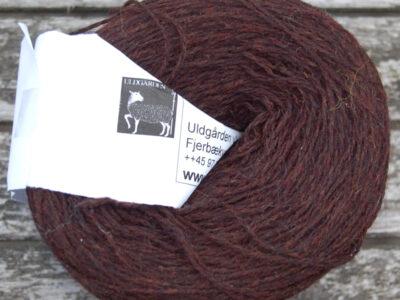 Strikkegarn Shetlandsgarn Mocca 10