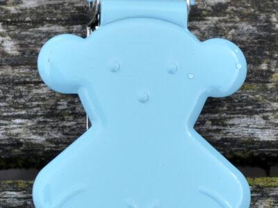 seleclips bamse lys blå