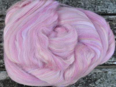 spinde-og filtefiber silke-uld Rouge 18
