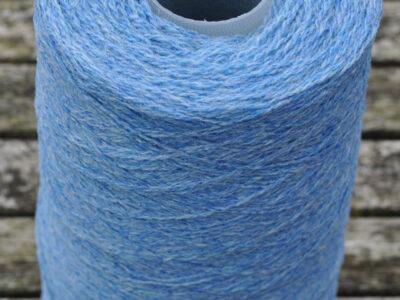 Strikkegarn Shetlandsgarn Himmelblå 47 spole