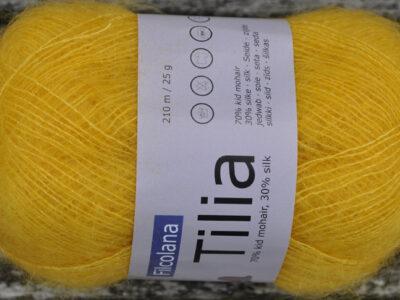 Strikkegarn Tilia fra Filcolana Banana 211