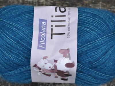 Strikkegarn Tilia fra Filcolana Blue Coral 289