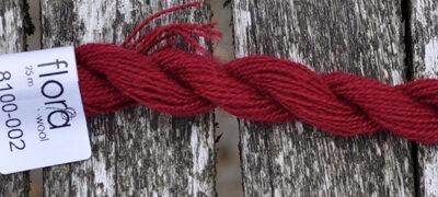 flora wool broderigarn 8100