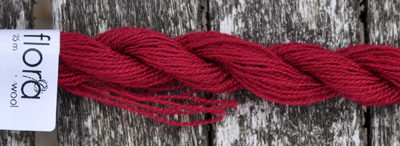 flora wool broderigarn 8101