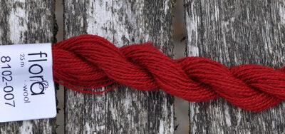 flora wool broderigarn 8102