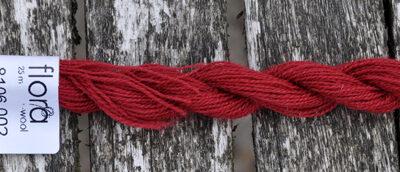 flora wool broderigarn 8106