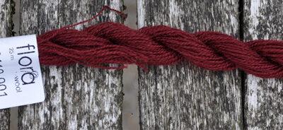 flora wool broderigarn 8110