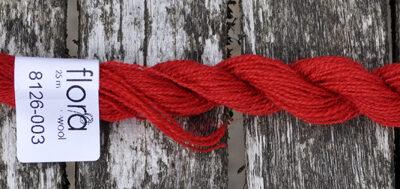 flora wool broderigarn 8126