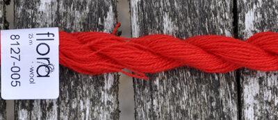 flora wool broderigarn 8127