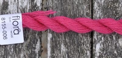 flora wool broderigarn 8155