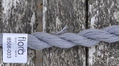 flora wool broderigarn 8508