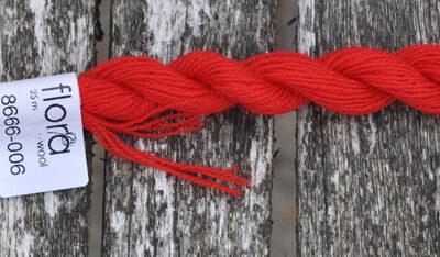 flora wool broderigarn 8666