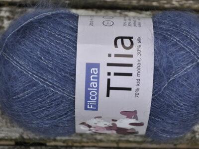 Strikkegarn Tilia fra Filcolana Blue Violet 319
