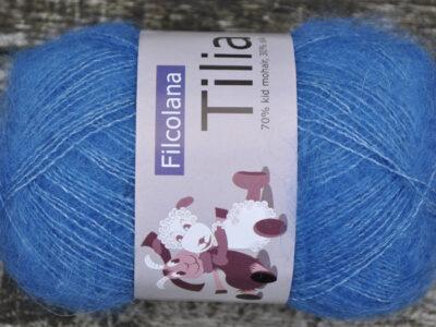 Strikkegarn Tilia fra Filcolana Bluebell 328