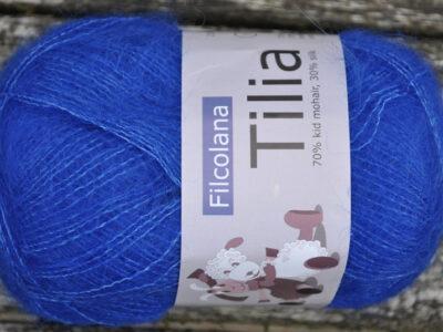 Strikkegarn Tilia fra Filcolana Bright Cobalt 337