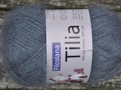 Strikkegarn Tilia fra Filcolana Frost Grey 338