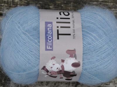 Strikkegarn Tilia fra Filcolana Ice Blue 340