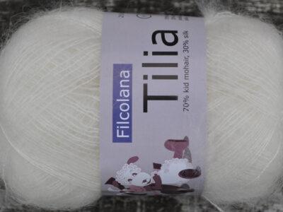 Strikkegarn Tilia fra Filcolana Natural White 101