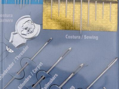 Sampakning af diverse nåle