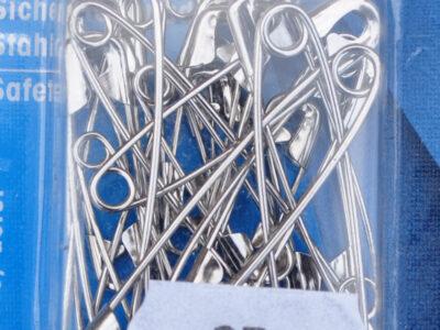 Sikkerhedsnåle sølv 27-38-50