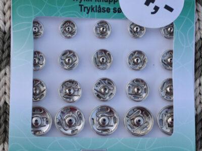 Tryklåse og trykknapper 6 - 11 mm villy