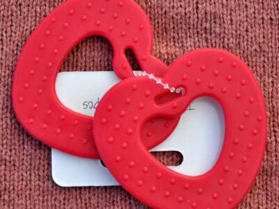 bidering hjerte rød