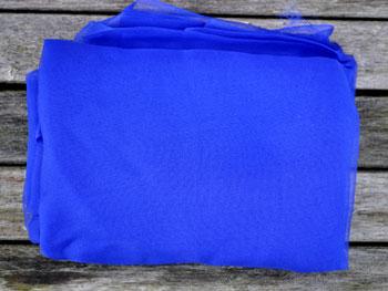 Metervare Silkechiffon 110 cm bred Blåviolet 48