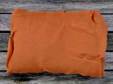 Metervare silkechiffon  Kanel 43
