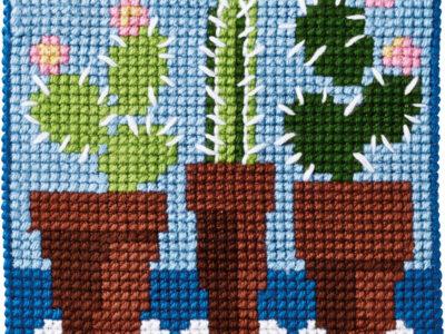 Broderikit Kaktus 9324