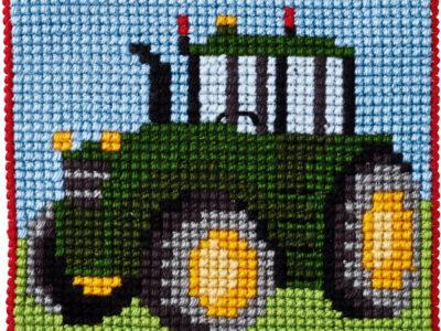 Broderikit Traktor 9320