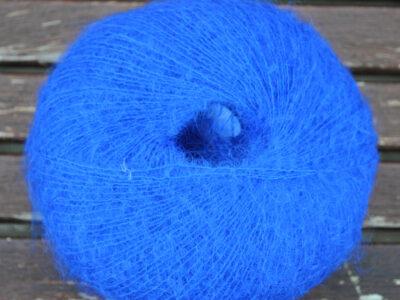 Strikkegarn fra Adriafil Kid Mohair Cêzanne blå 68