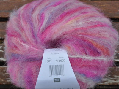 Strikkegarn Fashion Light Luxury Hand-dyed 01 Pink