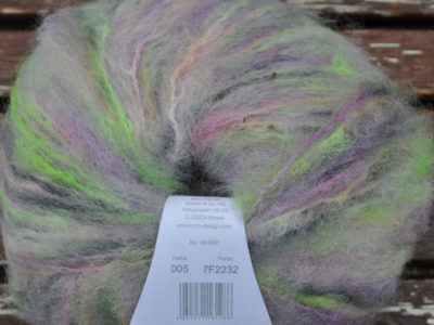 Strikkegarn Fashion Light Luxury Hand-dyed 05 Multi