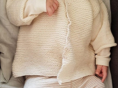 Vintergæk med baby