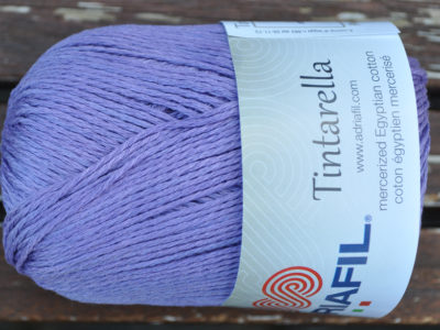 Bomuldsgarn Tintarella fra Adriafil 70 Lavendel
