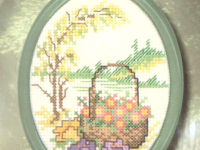 Broderikit fra Permin Forår 13-5611