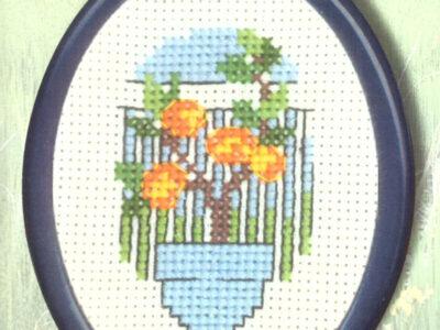 Broderikit fra Permin blomster 13-9380