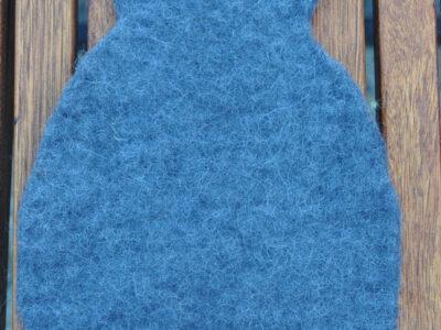 Filtet bordskåner kat Koksgrå