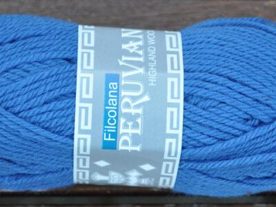 Strikkegarn Peruviansk Højlandsuld Cobolt Blue 249